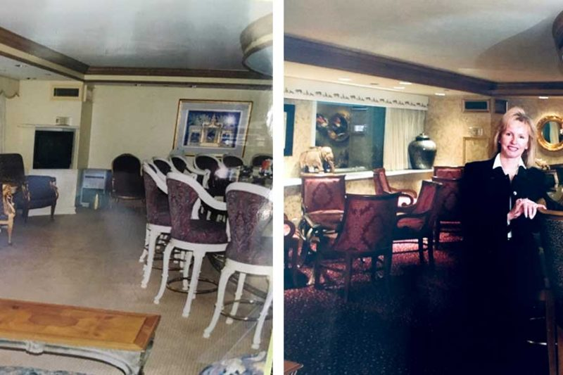 Maharajah Club Before After