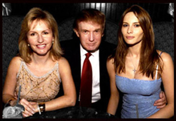 Carol C Brown, Donald Trump and Melania Trump
