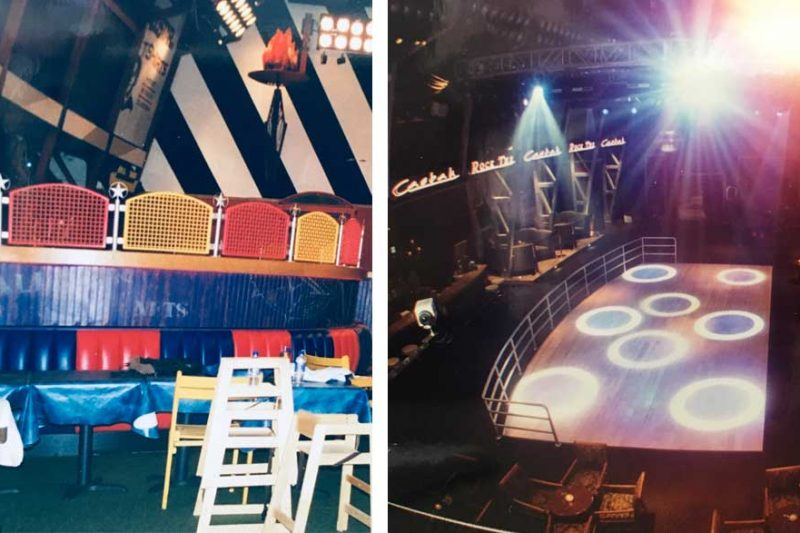 Casbah Nightclub Before and After